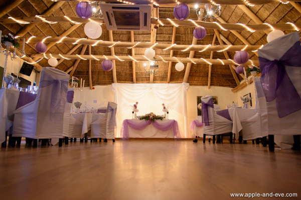 The reception hall. This part was best kept in colour.