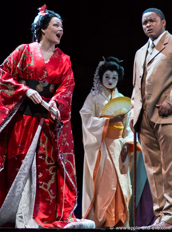 Madama Butterfly in happier days.