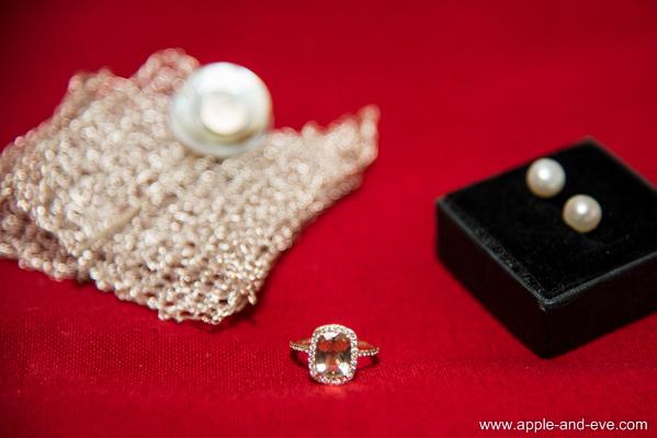 The jewelry.