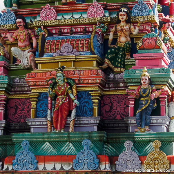 The detail on these Hindu temples are quite amazing, and pink is certainly a much favoured colour :-)