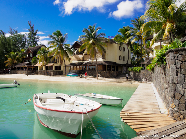Grand Baie is the top spot to be with many restaurants and shops almost on the beach.