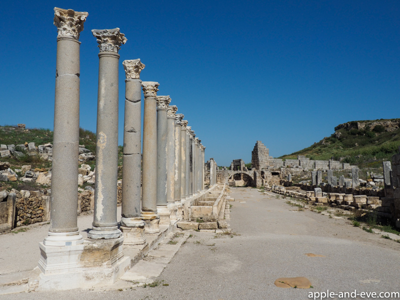 The ruins at Perge.