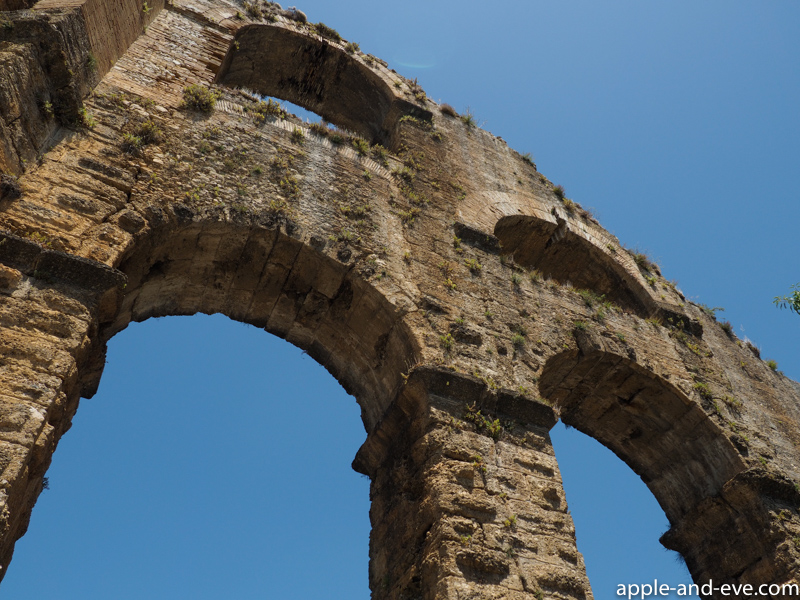 Roman aquaduct.