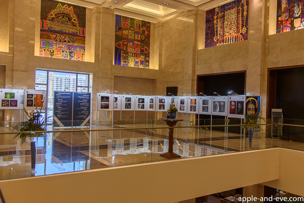 An exhibition by the Oman Photographic Society inside the Opera Galleria.